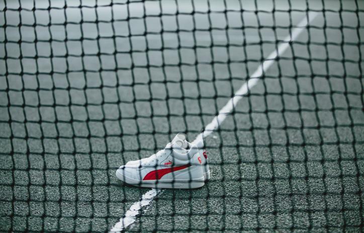 Photo05 - ドイツテニス界のスター選手BORIS FRANZ BECKER氏のシグネチャーモデル Puma BECKER OG LEATHER が復刻