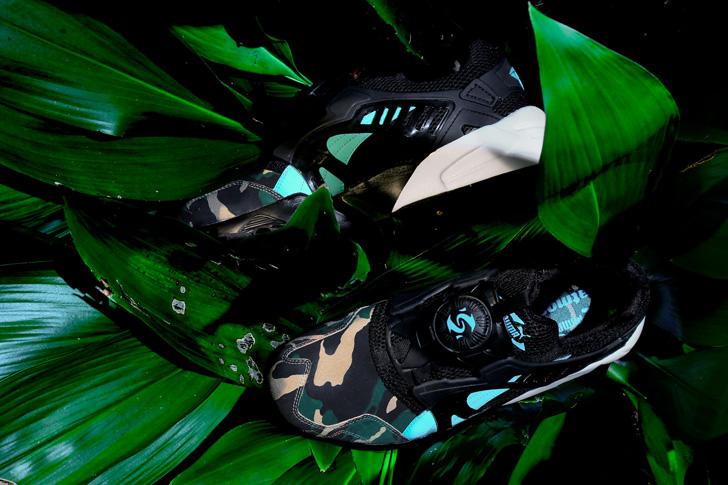 """Photo02 - プーマは、闇夜のジャングルを表現したatmosとのコラボモデルDISC BLAZE """"NIGHT JUNGLE""""を発売"""