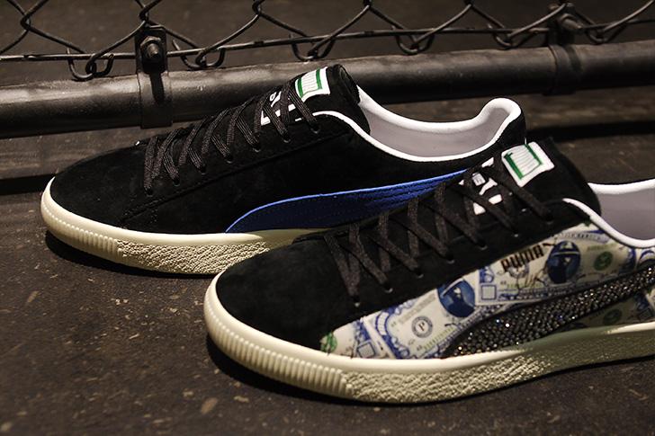 "Photo10 - プーマは、オリジナルのドル札紙幣をプリントしたmita sneakersとのコラボレーションモデルCLYDE ""mita sneakers""を発売"