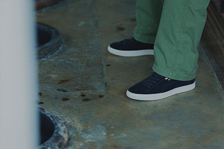 Photo09 - プーマから、アパレルブランドCLUCTとmita sneakersによるコラボレートモデルCLYDE FOR CLUCT MITAが登場