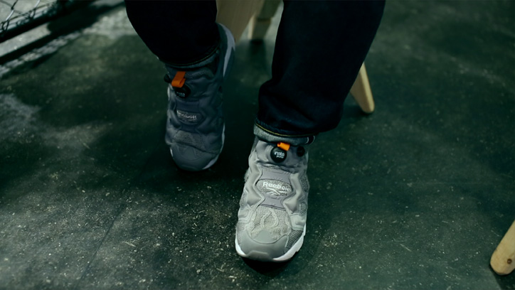 "Photo03 - Reebok CLASSIC Instapump Fury mita sneakers ""20th Anniversary""のPVを公開"