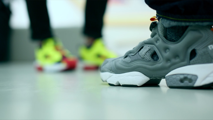 "Photo08 - Reebok CLASSIC Instapump Fury mita sneakers ""20th Anniversary""のPVを公開"