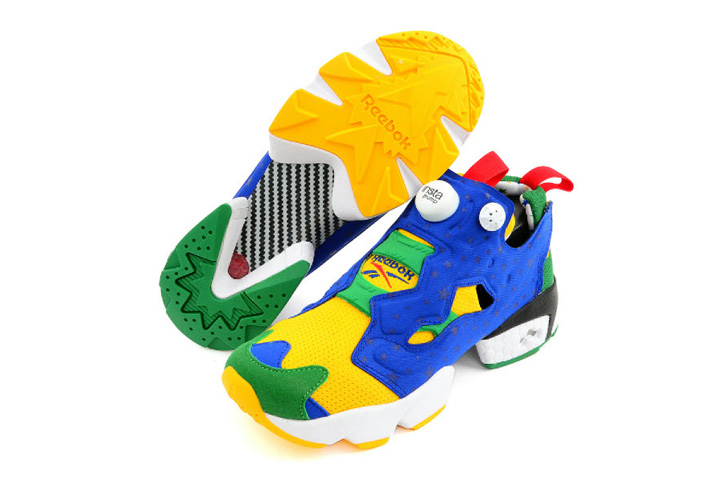 "Photo04 - Reebok INSTA PUMP FURY ""2014 BRAZIL WORLD CUP""の先行予約が開始"