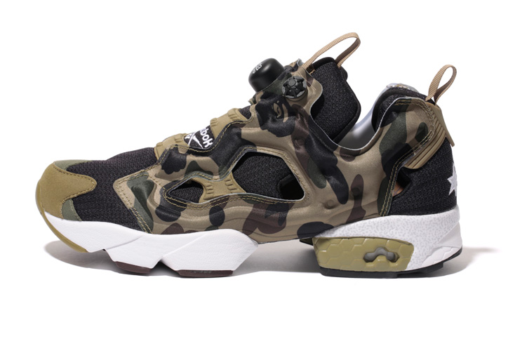 "Photo03 - Reebok INSTA PUMP FURY OG ""A BATHING APE® x mita sneakers"" が発売"