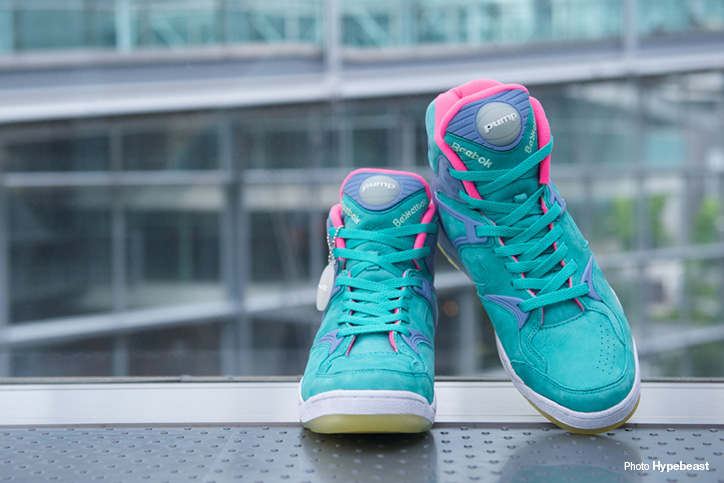 "Photo03 - Reebok THE PUMP ""ELECTRIC CITY"" ""mita sneakers"" ""THE PUMP 25th ANNIVERSARY"" が発売"