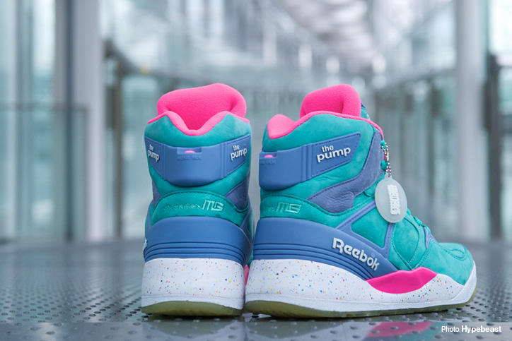 "Photo05 - Reebok THE PUMP ""ELECTRIC CITY"" ""mita sneakers"" ""THE PUMP 25th ANNIVERSARY"" が発売"