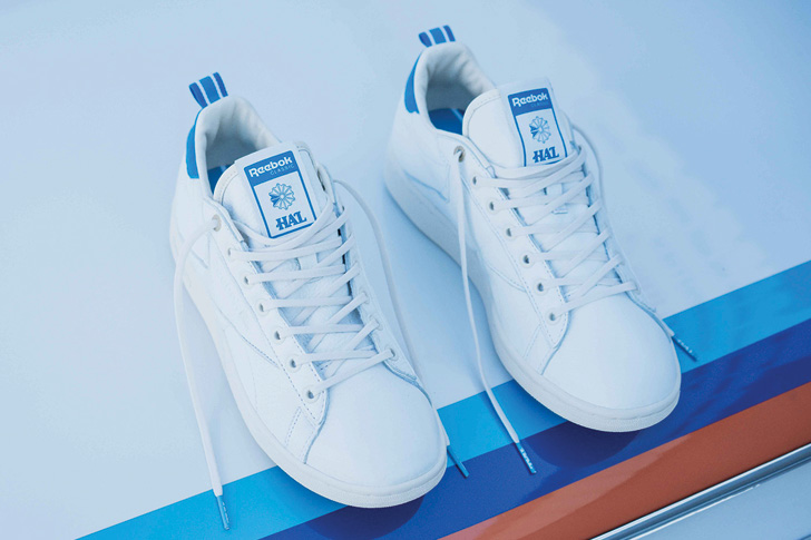 Photo02 - リーボックから、テニス専用コートシューズNPC UKをベースにHIGHS AND LOWSとのコラボレーションモデルが発売
