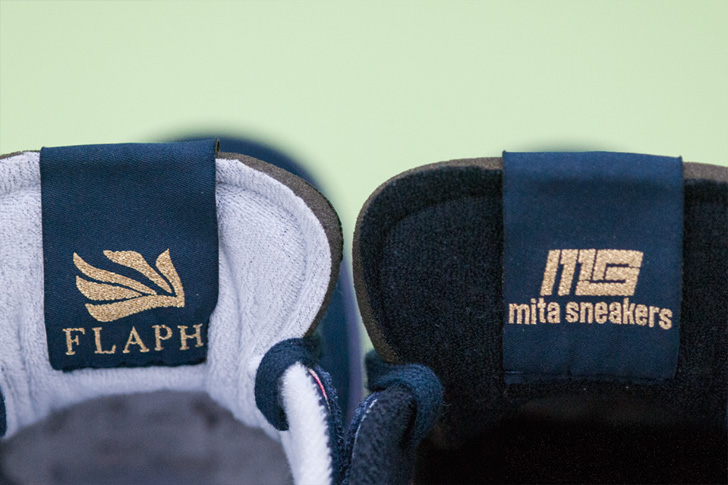 """Photo03 - リーボックは、FLAPHとmita sneakersによるコラボレーションモデルWORKOUT LOW CLEAN FVS FXM """"FLAPH x mita sneakers""""を発売"""