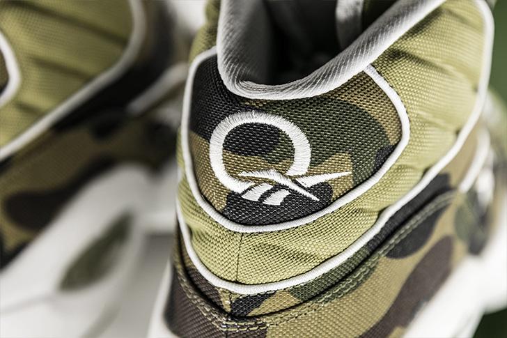 "Photo05 - リーボックから、BAPE®とmita sneakersによるコラボレーションモデルQUESTION MID ""A BATHING APE® x mita sneakers""が発売"