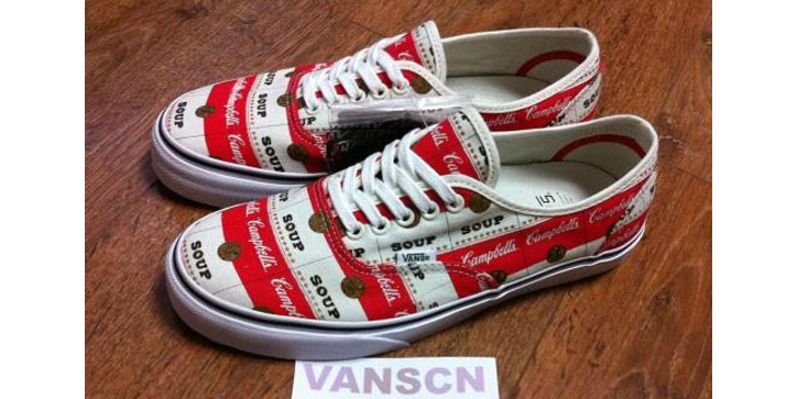 "Photo01 - Supreme x Vans Authentic ""Campbell Soup"""