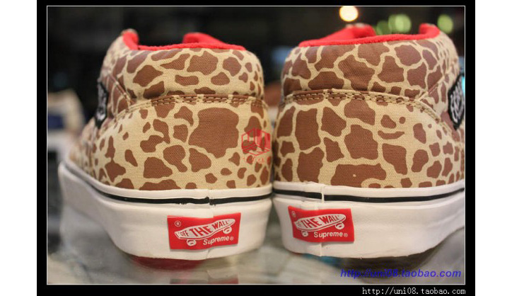 "Photo04 - SUPREME x VANS HALF CAB ""GIRAFFE"" PACK"