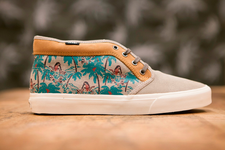 "Photo03 - Vans California 2013 Spring/Summer ""Aloha Camo"" Pack"