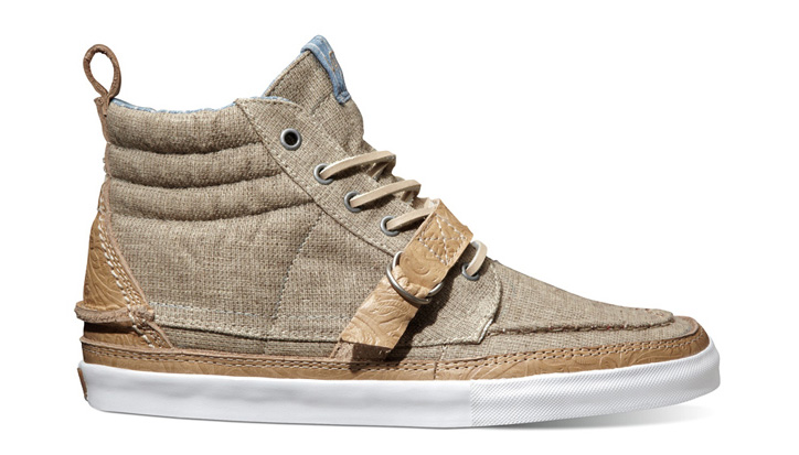 Photo02 - Vans Vault Fall 2012 Sk8-Hi Boat Strap LX