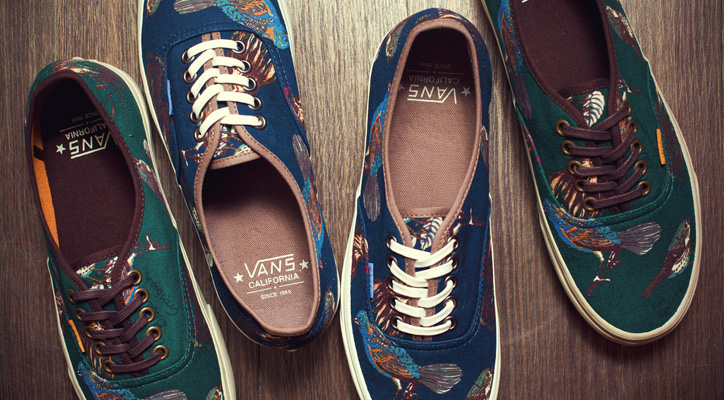 "Photo01 - Vans California 2012 Fall/Winter ""Birds"" Authentic CA Pack"