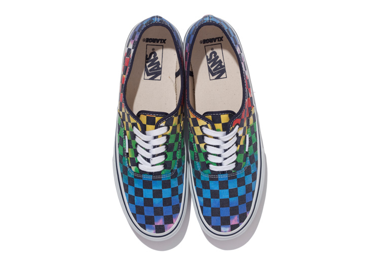 Photo03 - XLARGE® x VANS AUTHENTIC TIE-DYE CHECKER FLAG