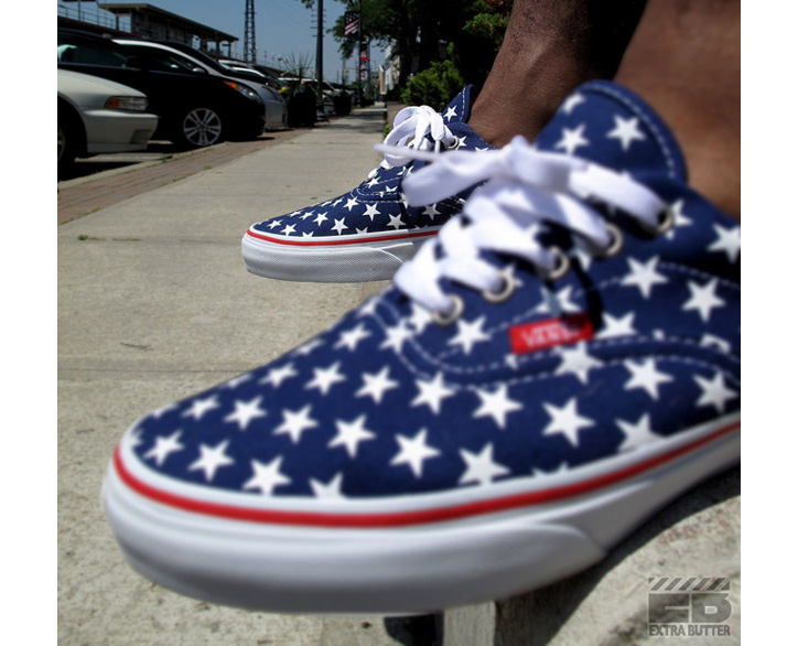 "Photo02 - VANS ERA ""STARS & STRIPES"" PATRIOT BLUE/TRUE WHITE"