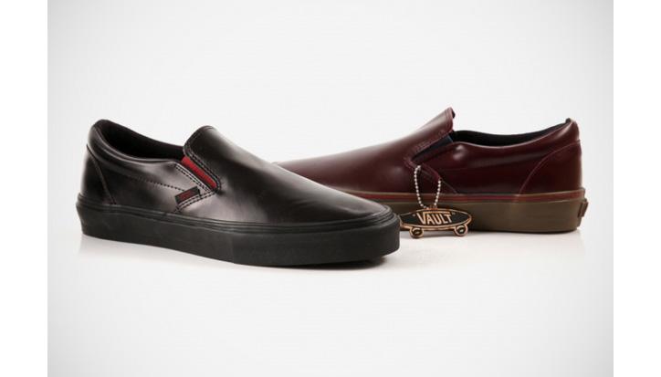 Photo01 - Vans Vault Premio Leather Slip-Ons