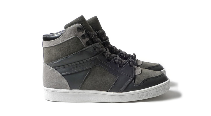 Photo01 - White Mountaineering Hi-Cut Sneaker Shipton Grey