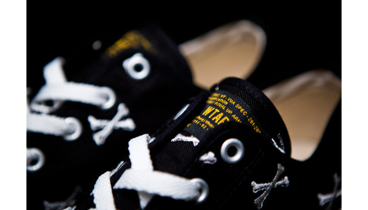 "Photo03 - WTAPS ""Crossbones"" Canvas Sneaker"