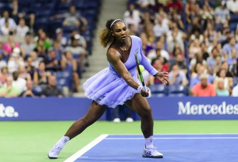 Serena Williams Off-White Nike Collection Lavender