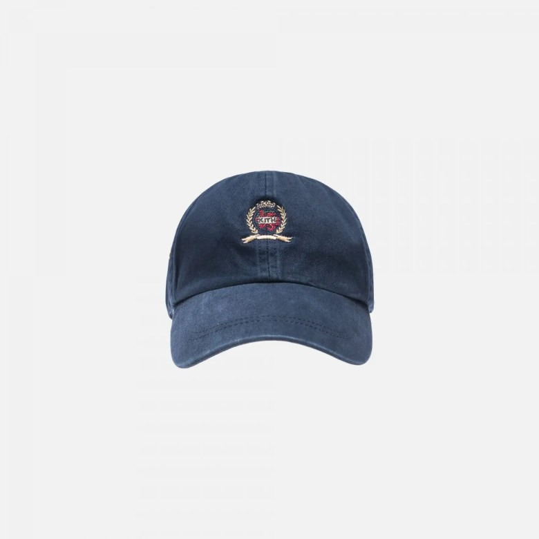 KITH X TOMMY HILFIGER CREST CAP NAVY