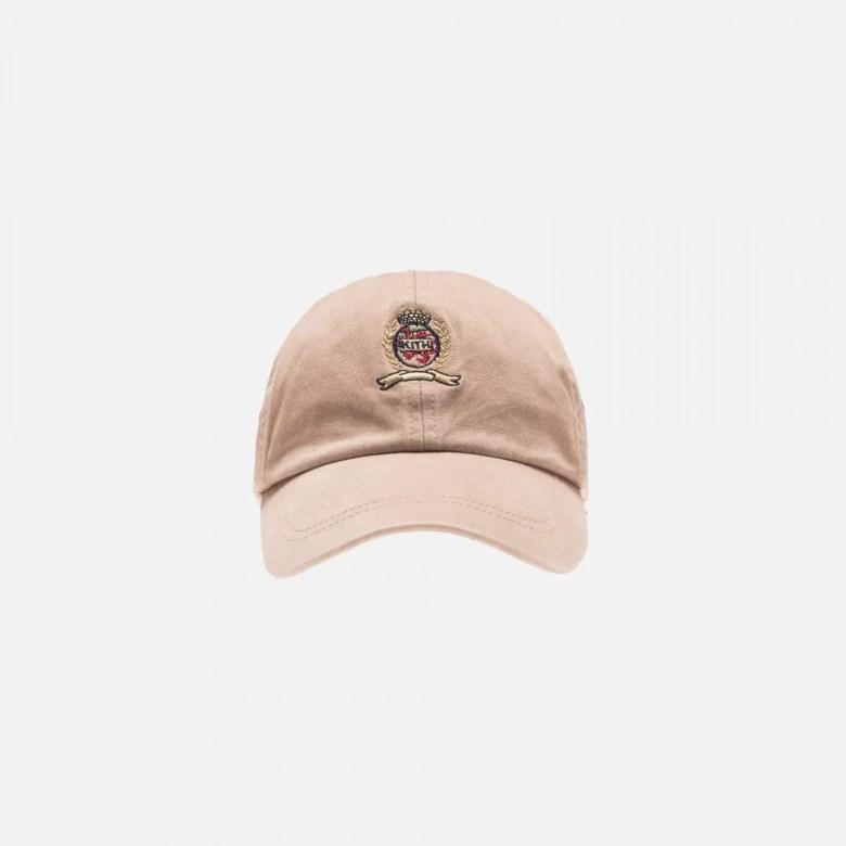 KITH X TOMMY HILFIGER CREST CAP KHAKI