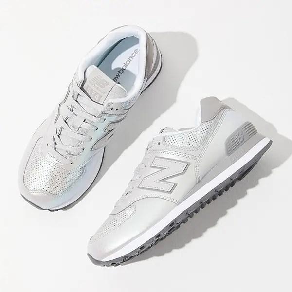 New Balance 574 Sheen Sneaker
