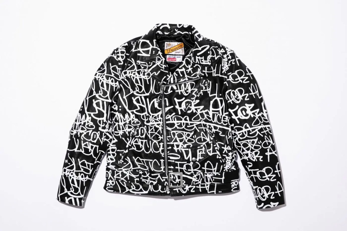 supreme-comme-des-garcons-shirt-schott-painted-perfecto-leather-jacket-18aw-collaboration-release-20180915-week4-1