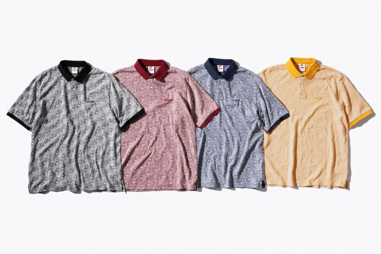 supreme-nike-18aw-collaboration-20180929-week6-polo-shirt-4 colors