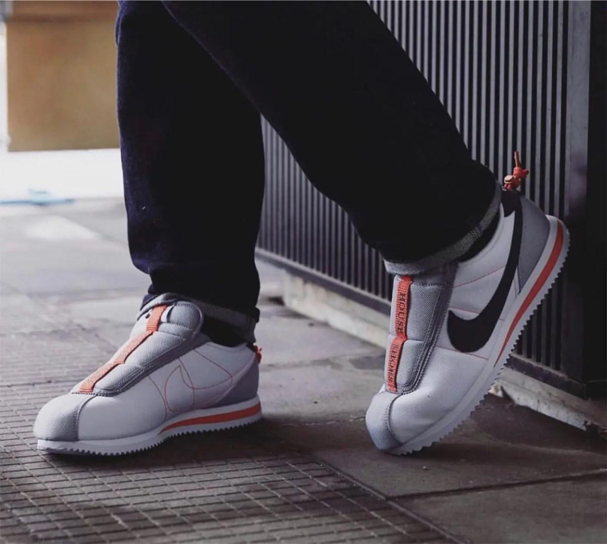 10/14【Nike x Kendric Lamar Cortez Basic Slip】ナイキとケンドリックラマーのコラボ新作発売!(AV2950-100)