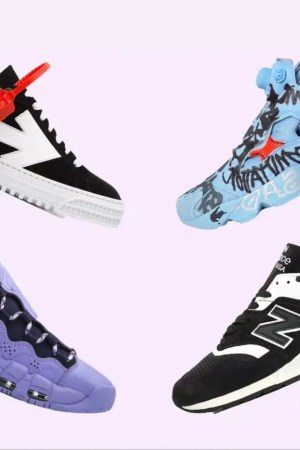 The Sneaker Edit Colorful Designer Picks to Kick Start Your Year
