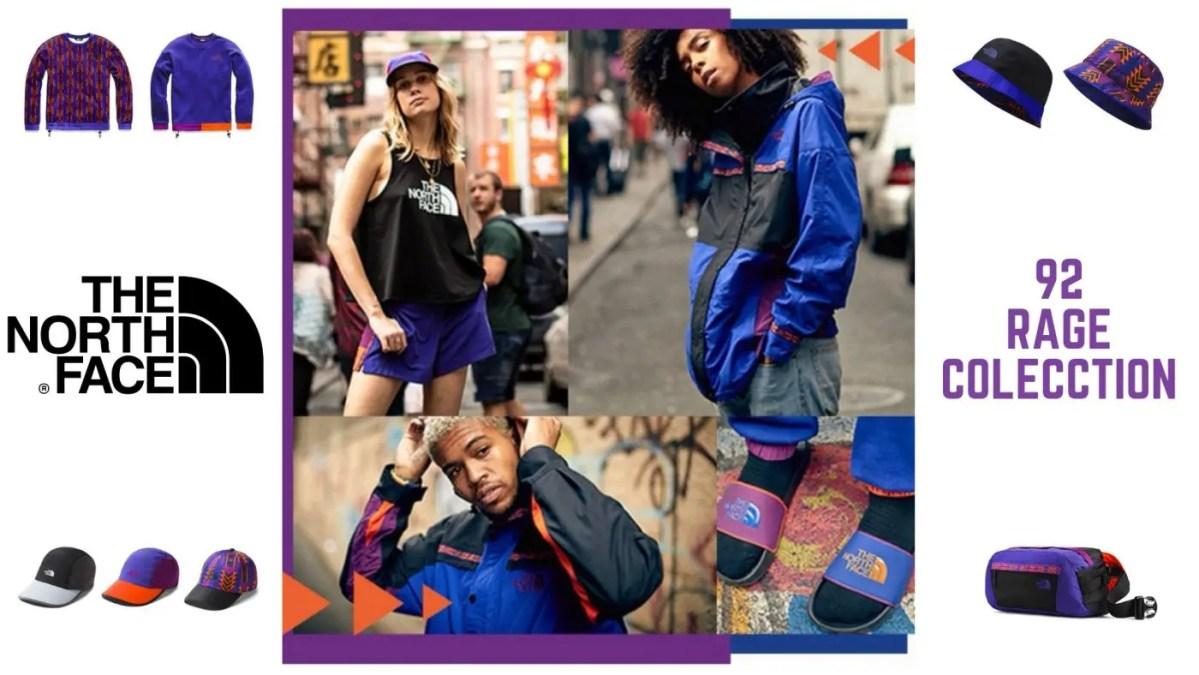 大注目☆【The North Face 92 Rage コレクション】90年代ファッションを回帰するレトロな配色で現代に蘇ってきた話題作!