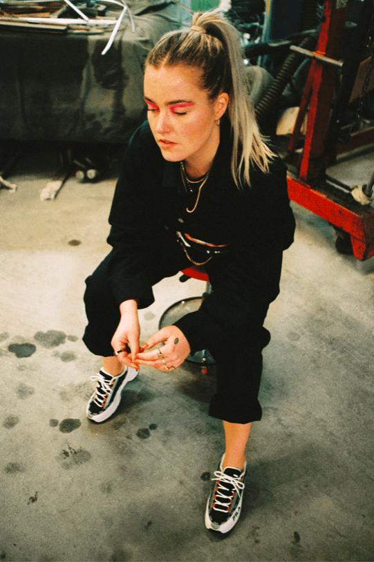 This Girl on Kicks Editorial Re-Introduces FILA's Vintage DSTR97 Design