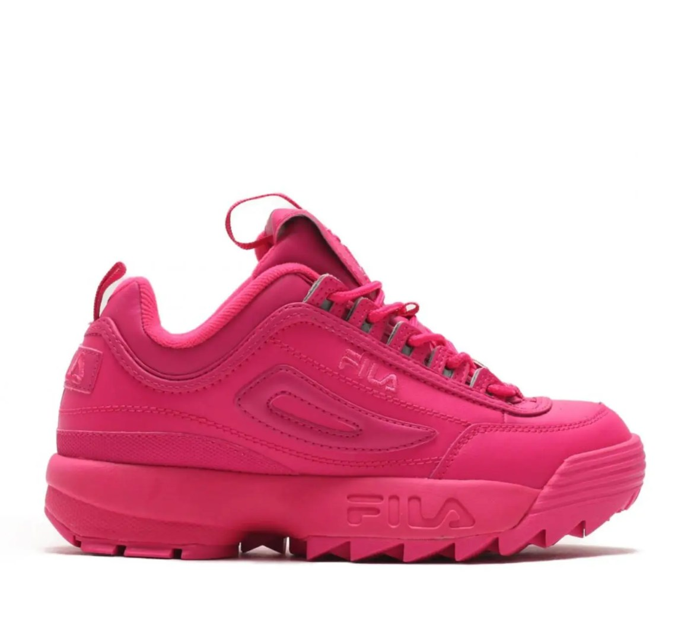FILA Disruptor 2 Mono Neon Sneaker-15