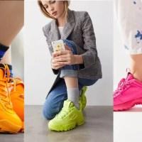 FILA Disruptor 2 Mono Neon Sneaker