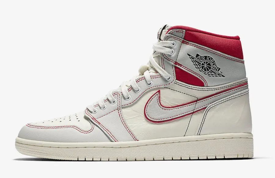 Air-Jordan-1-Sail-University-Red-555088-160-Release-Date-Price