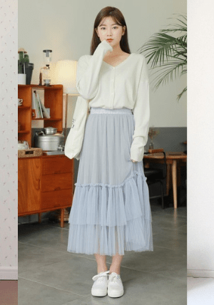 Sneakers for Tulle Skirt Spring 2019-01