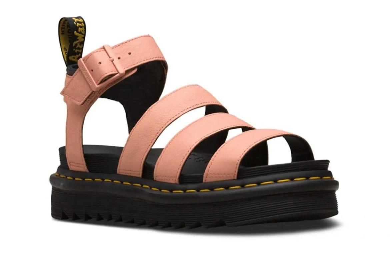 Dr. Martens Platform Sandals Coral Pink