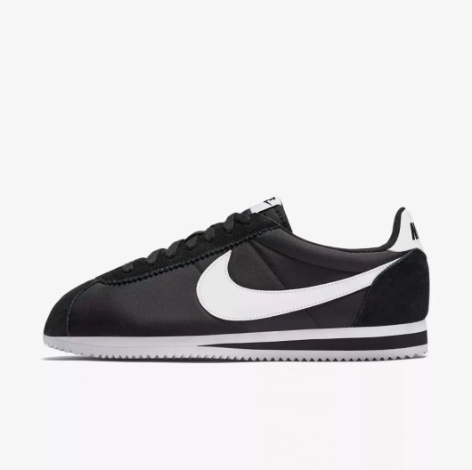 Nike Classic CORTEZ Black and White-01