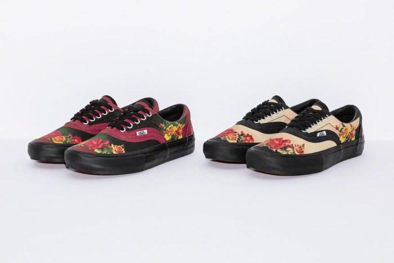 Supreme Week 7 Jean Paul Gaultier Vans Floral Print Era Pro-01