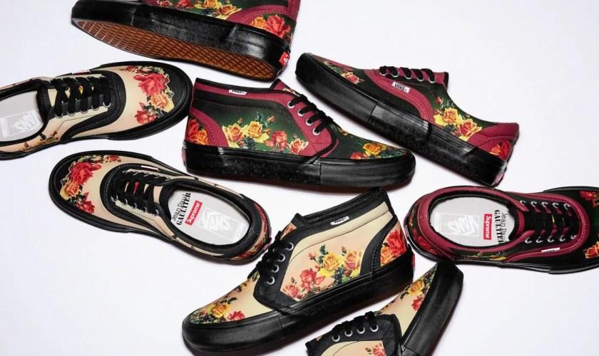 Supreme Week 7 Jean Paul Gaultier Vans Floral Print Era Pro-02