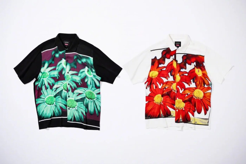 Supreme Week7 Jean Paul Gaultier Flower Power Rayon Shirt