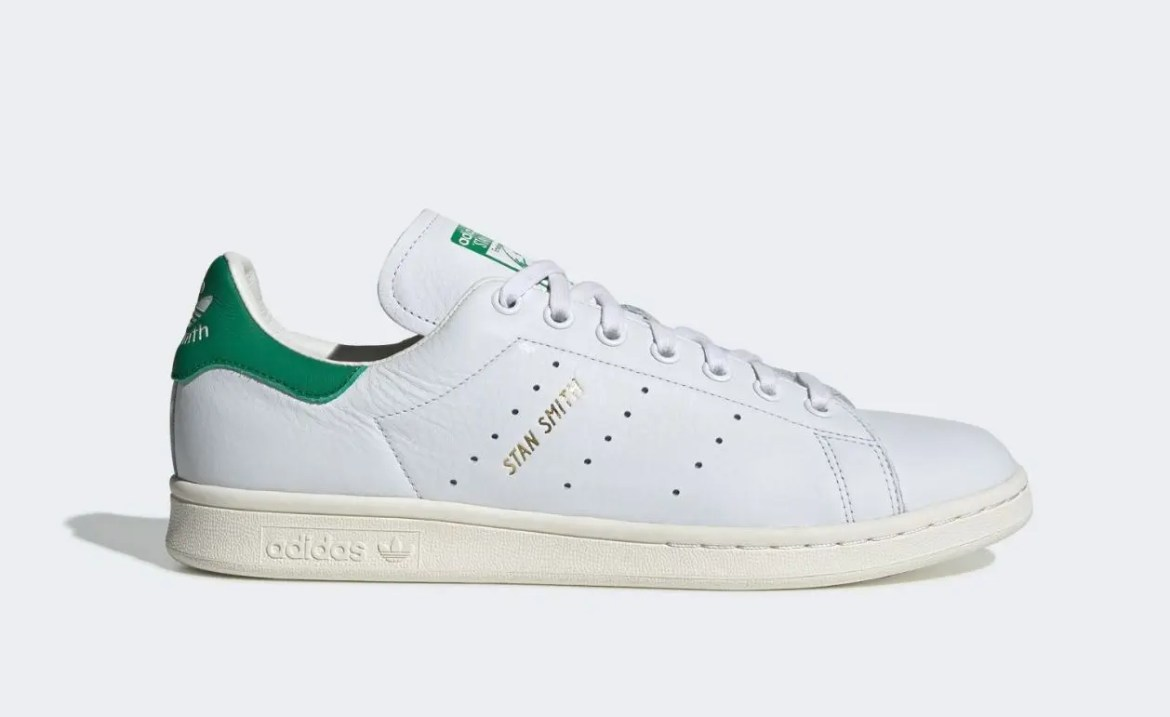 adidas Stan Smith Forever White Green-01