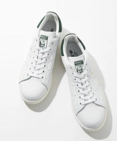 adidas Stan Smith Forever White Green-02