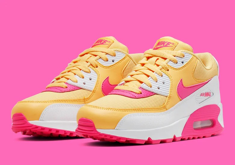 nike-air-max-90-womens-yellow-pink-white-325213-7025