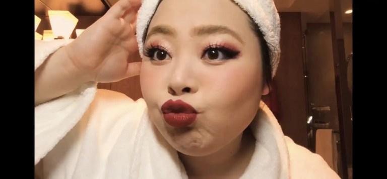 Naomi Watanabe's Guide to Glitter Eyes and Bold Lips Beauty Secrets Vogue-16
