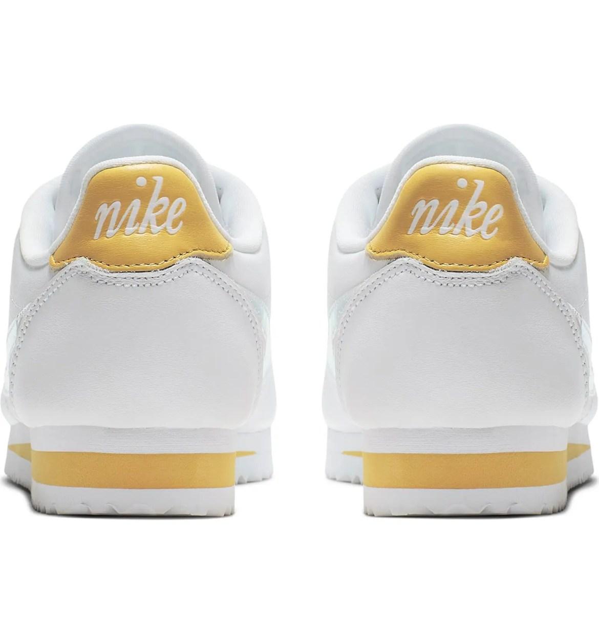 Nike Classic Cortez Sneaker White Clear Topaz Gold-02