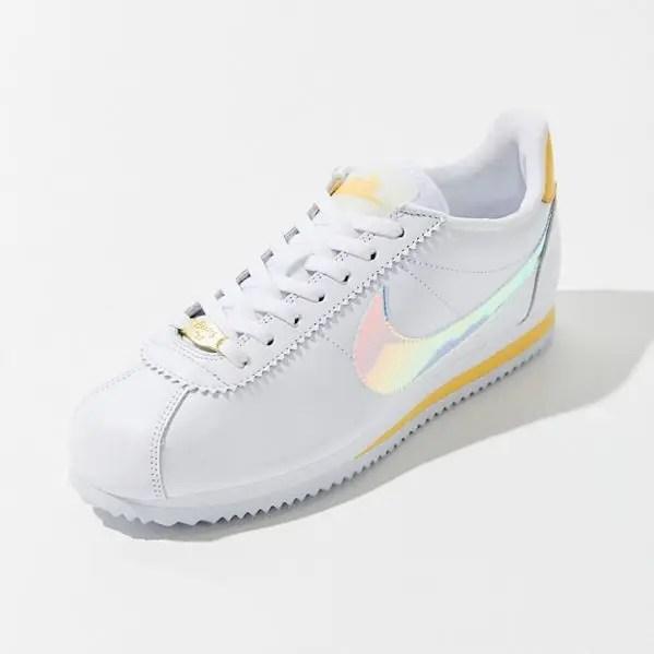 Nike Classic Cortez Sneaker White Clear Topaz Gold-06