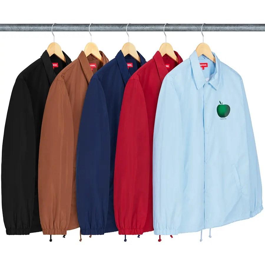 Supreme Apple Coaches Jacket