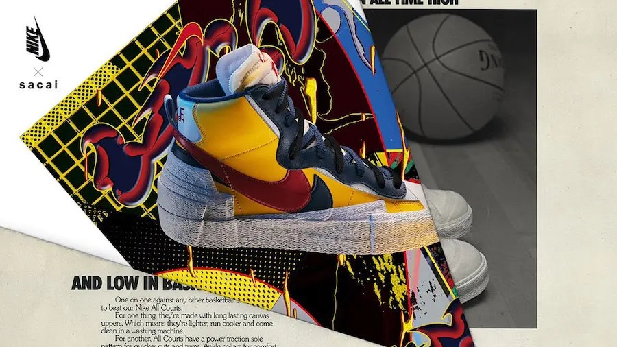 sacai-Nike-Blazer-Mid-Yellow-Red-Release-Date